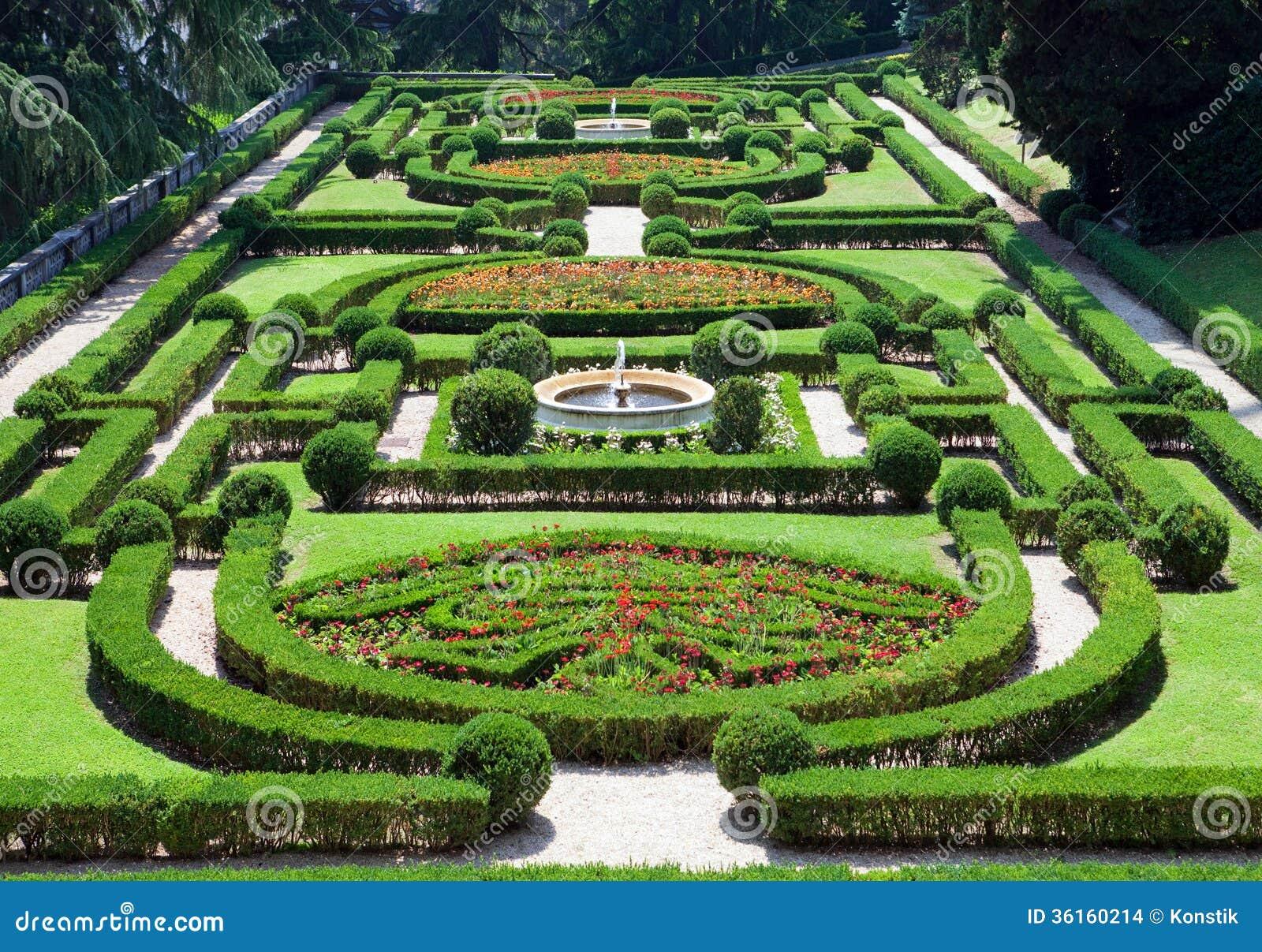 Vaticano un jard n del vaticano paisaje urbano en un d a for Jardines vaticanos
