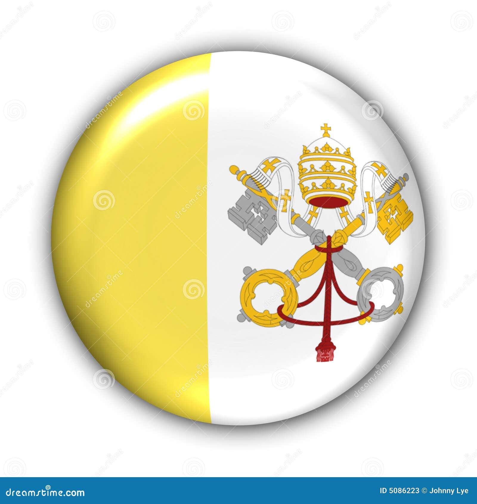 Vatikanstadt-Markierungsfahne