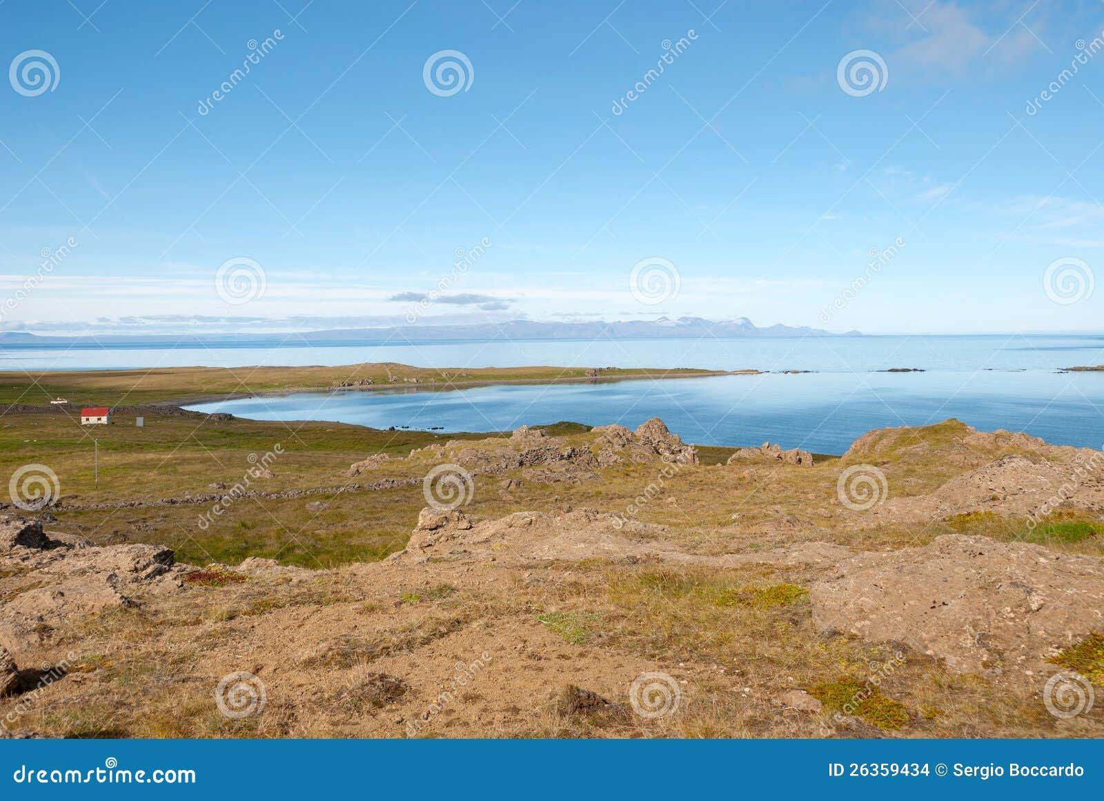 Vatnsnes Halbinsel in Island