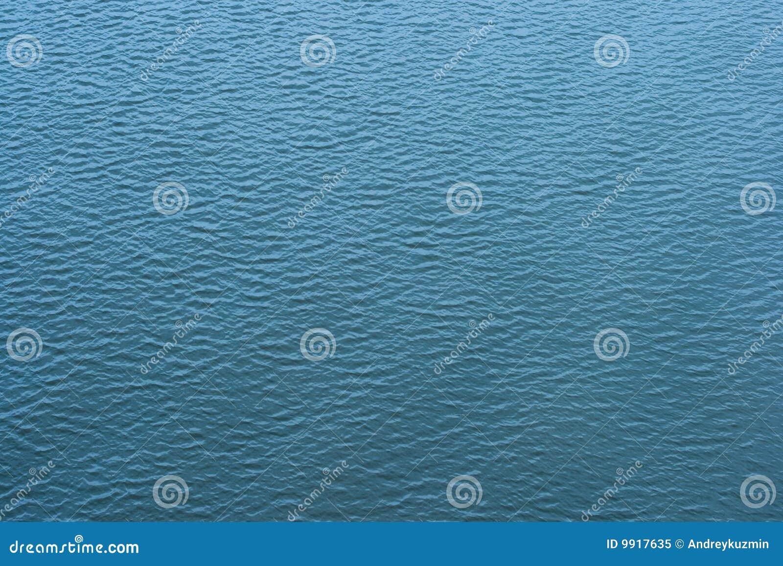 Vatten för övre sikt för krusningstextur