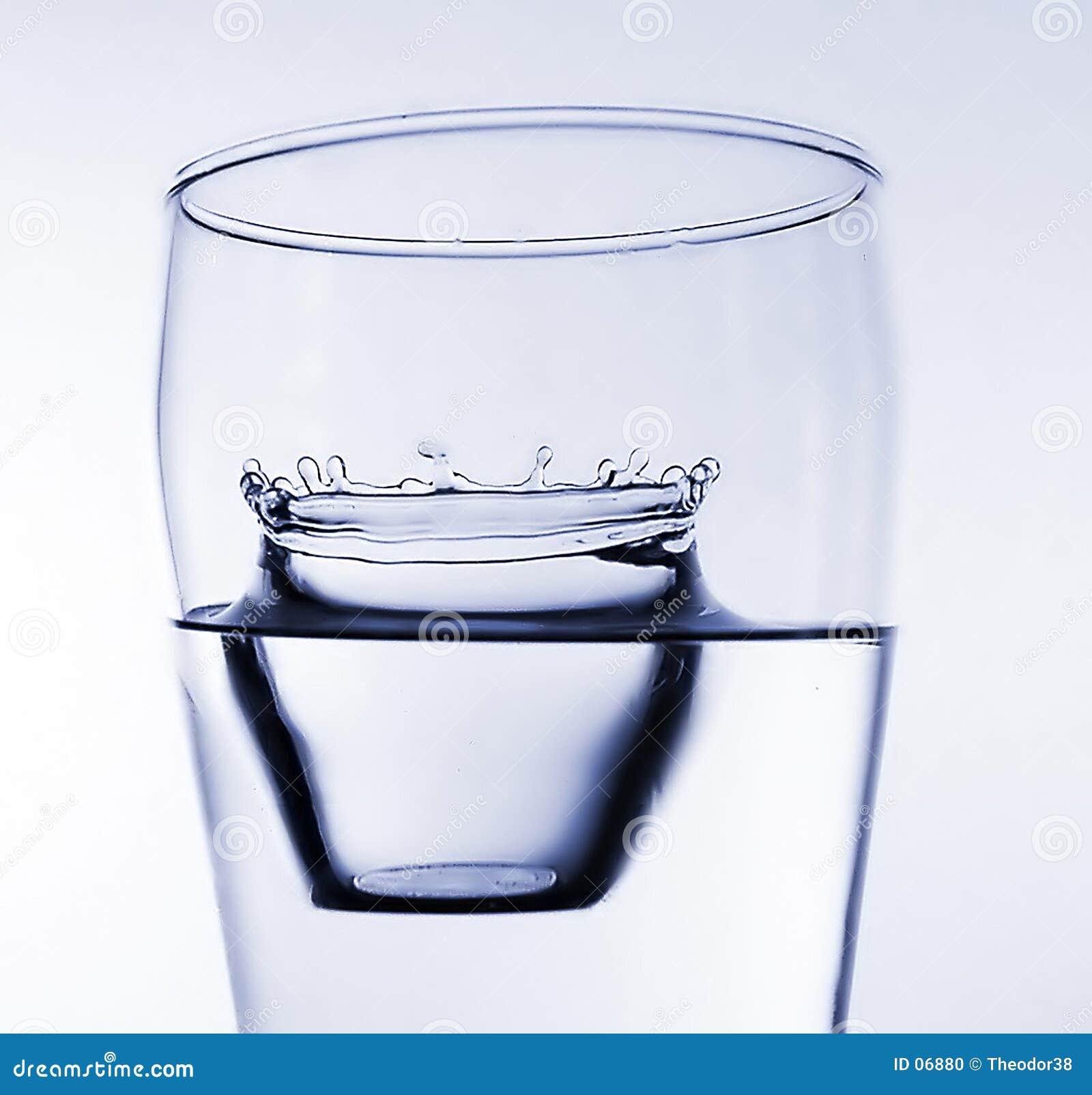 Vatten för 7 färgstänk
