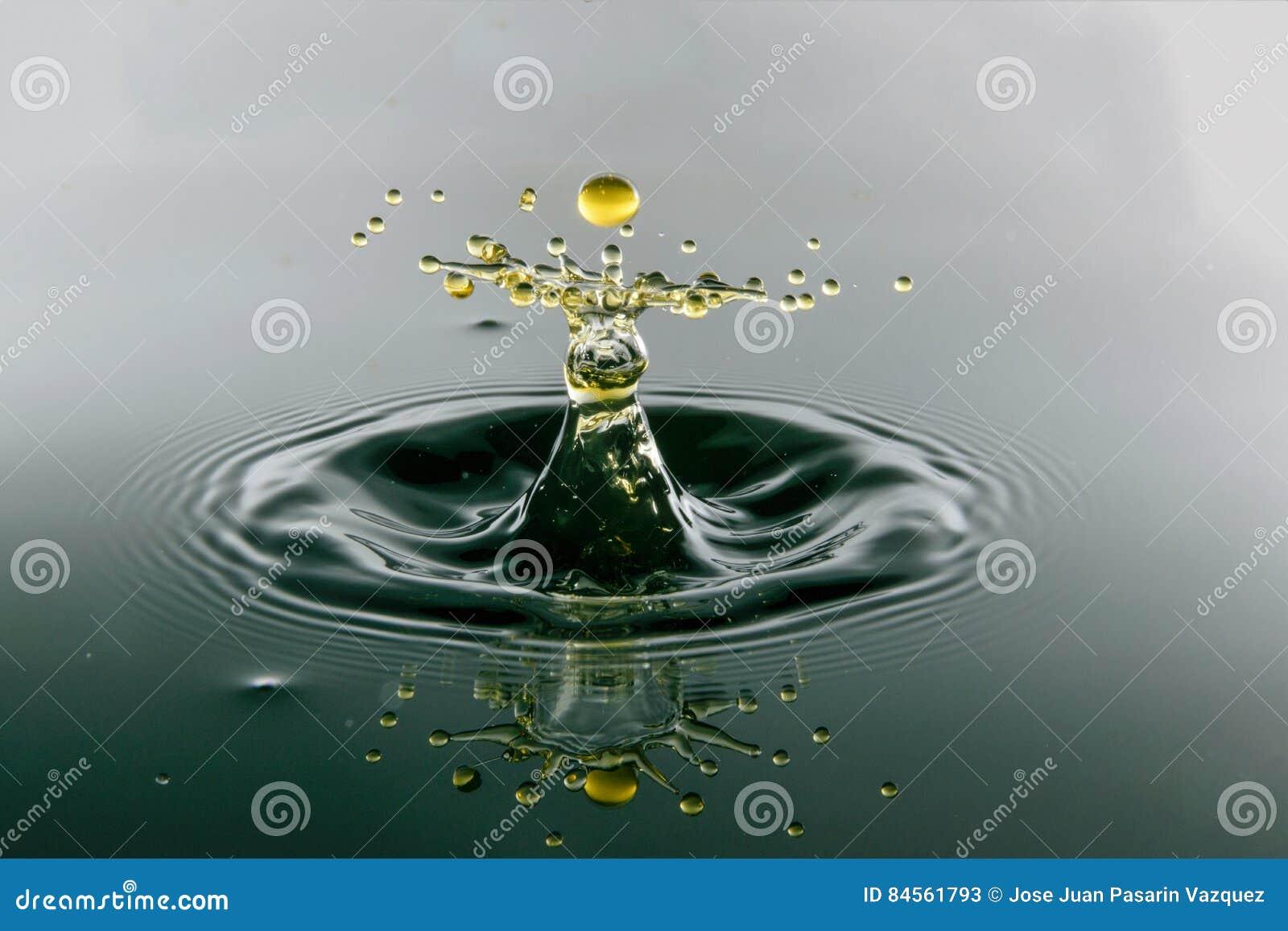 Vattendroppsammanstötning