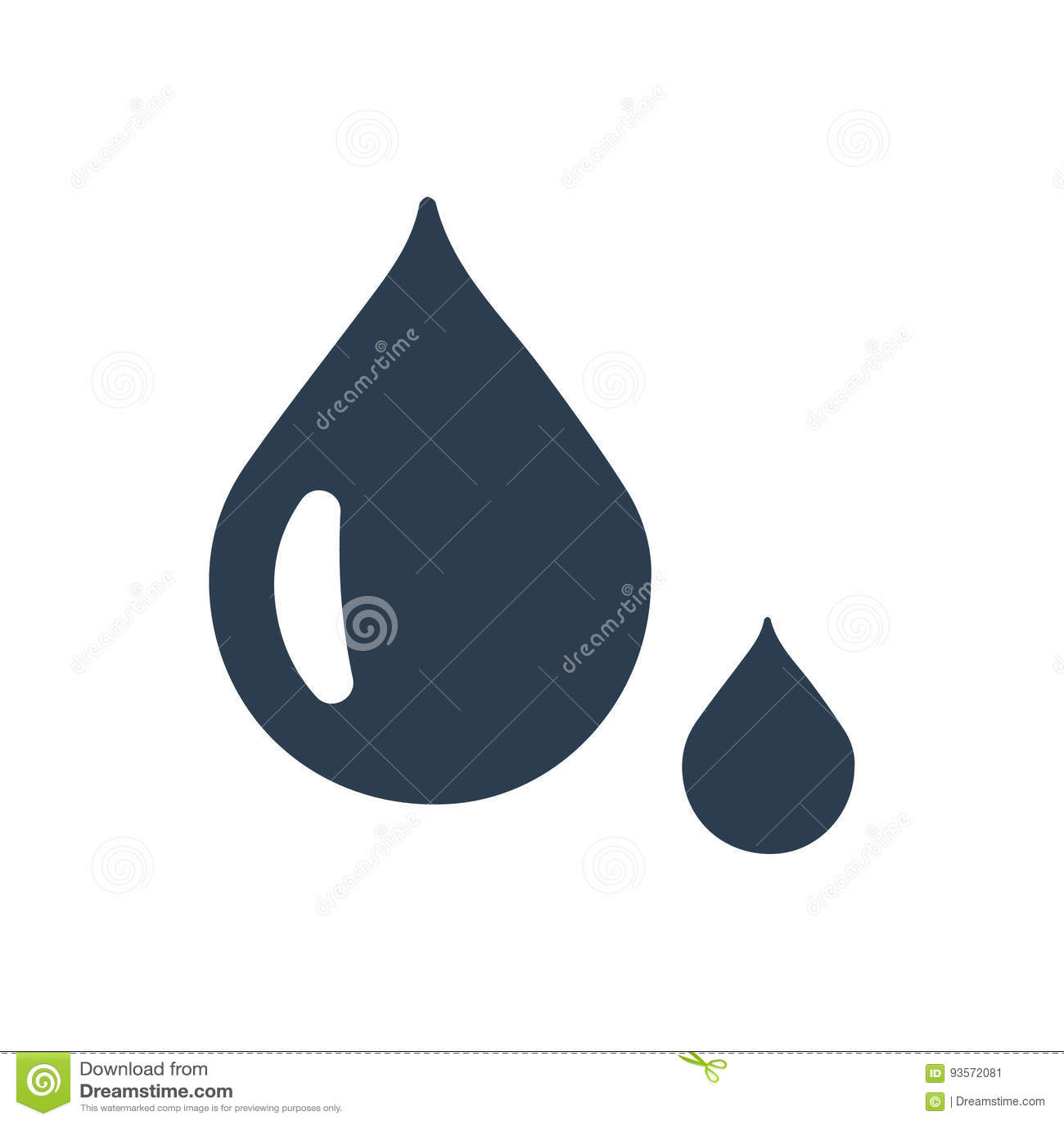 Vattendroppsymbol