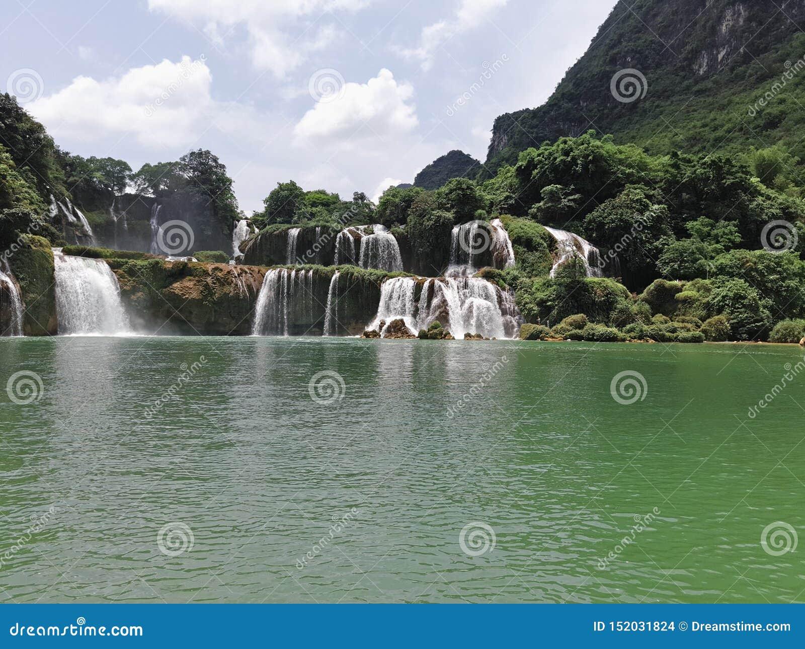 Vattenfall i södra Kina