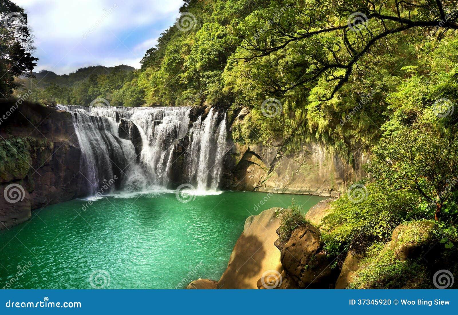 Vattenfalllandskap