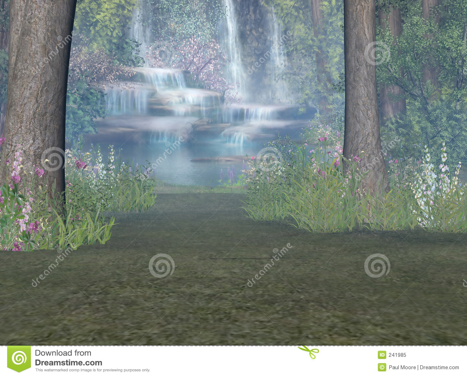 Vattenfallskogsmark