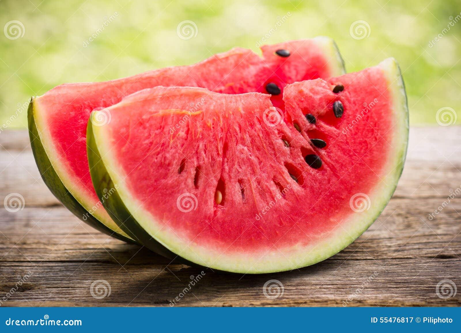 Vattenmelonskivor