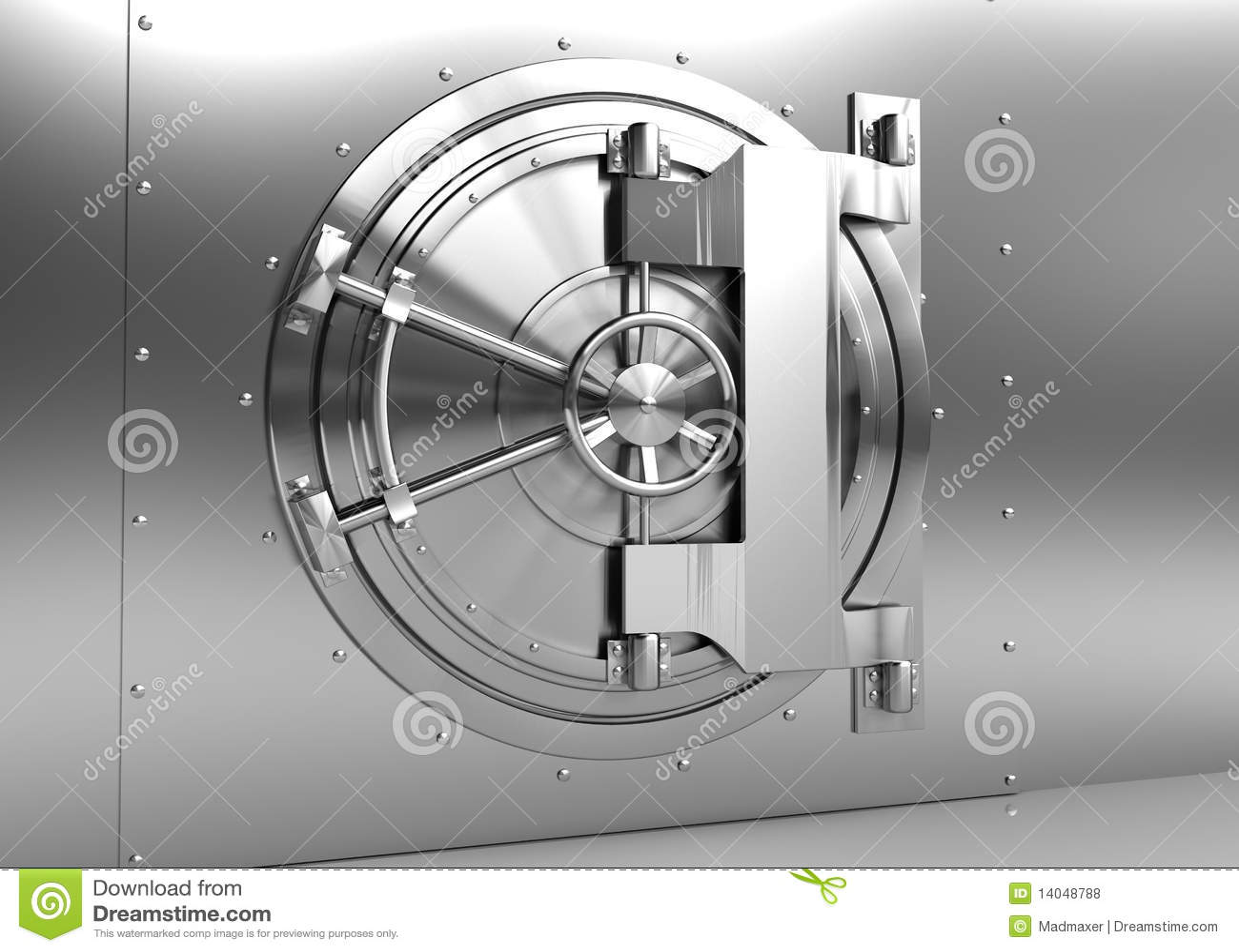 Vault Door Royalty Free Stock Photos Image 14048788