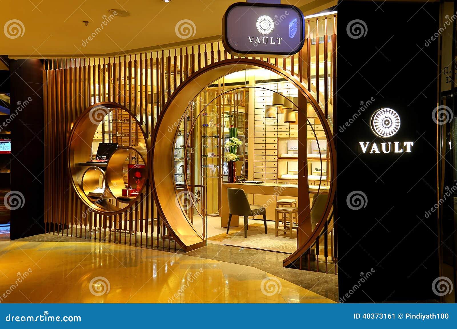 Vault optical store hong kong editorial photo image for Optical store designs interior