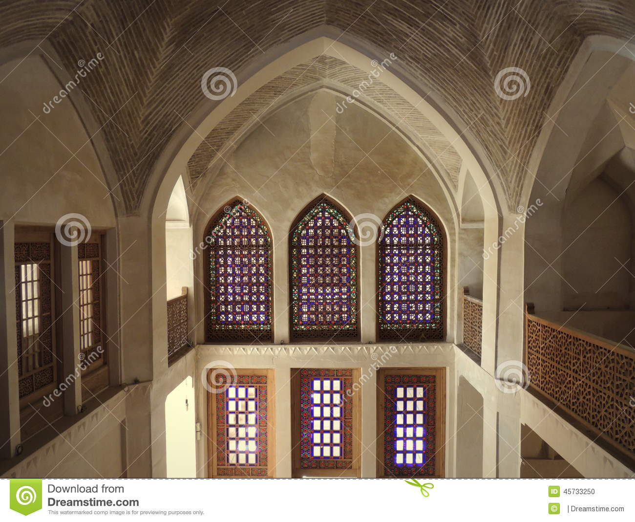 Persian 1 To 10 Vault Space Windows An...
