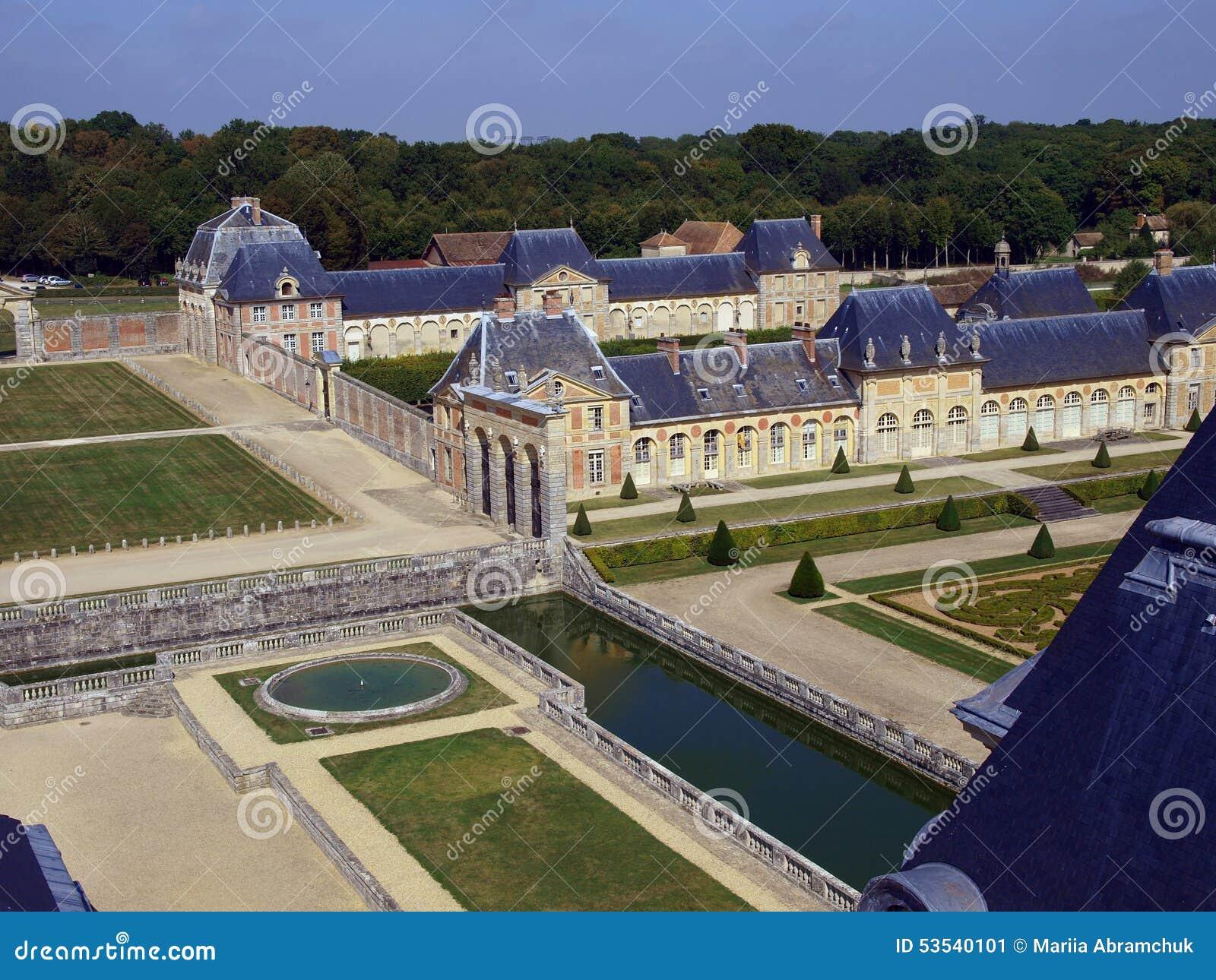 Vaux Le Vicomte,法国,在巴黎附近的城堡