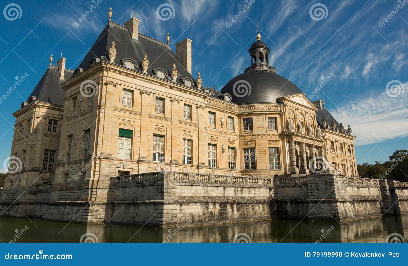 Vaux-le-Vicomte slotten, Frankrike