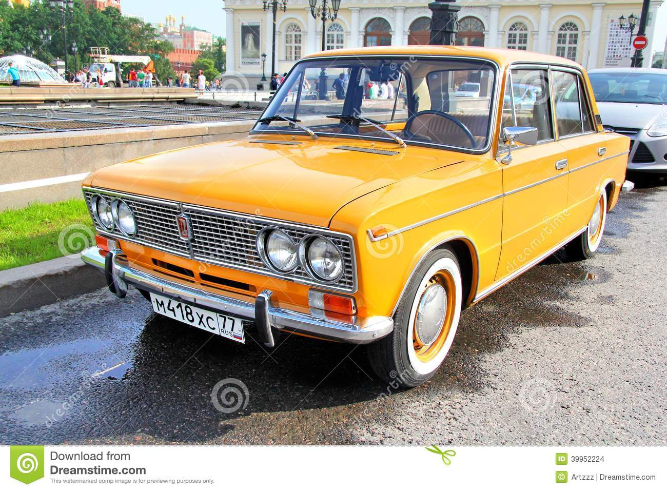 Cheap Car Tires >> VAZ 2103 Zhiguli Editorial Stock Image - Image: 39952224