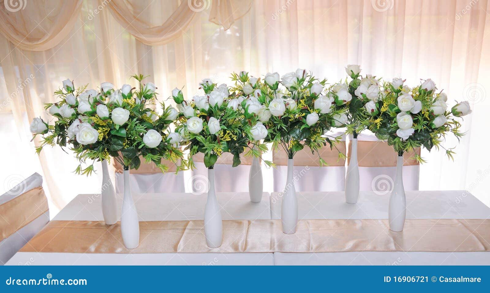Vazen met bloemen