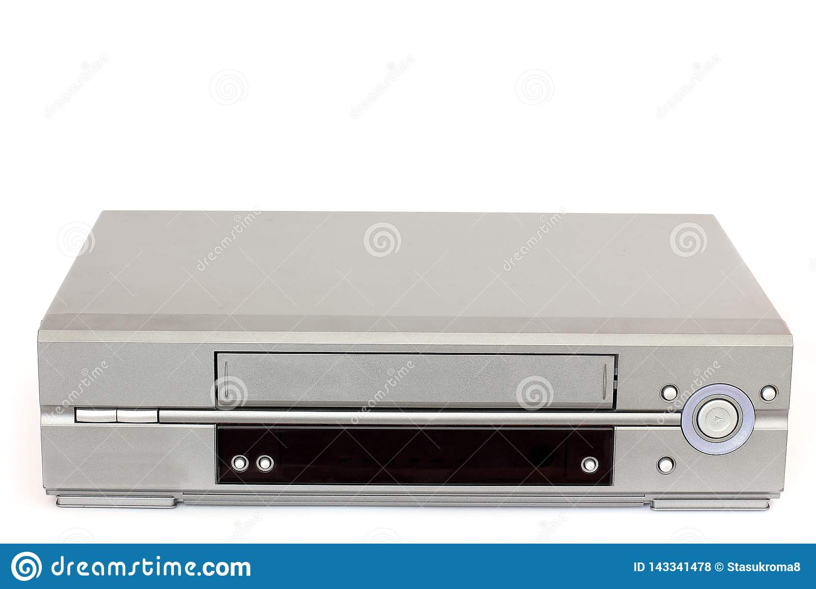 VCR on a white background