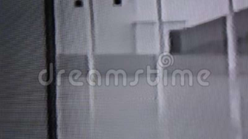 VCR white noise VHS effect stock footage  Video of offline - 97598210