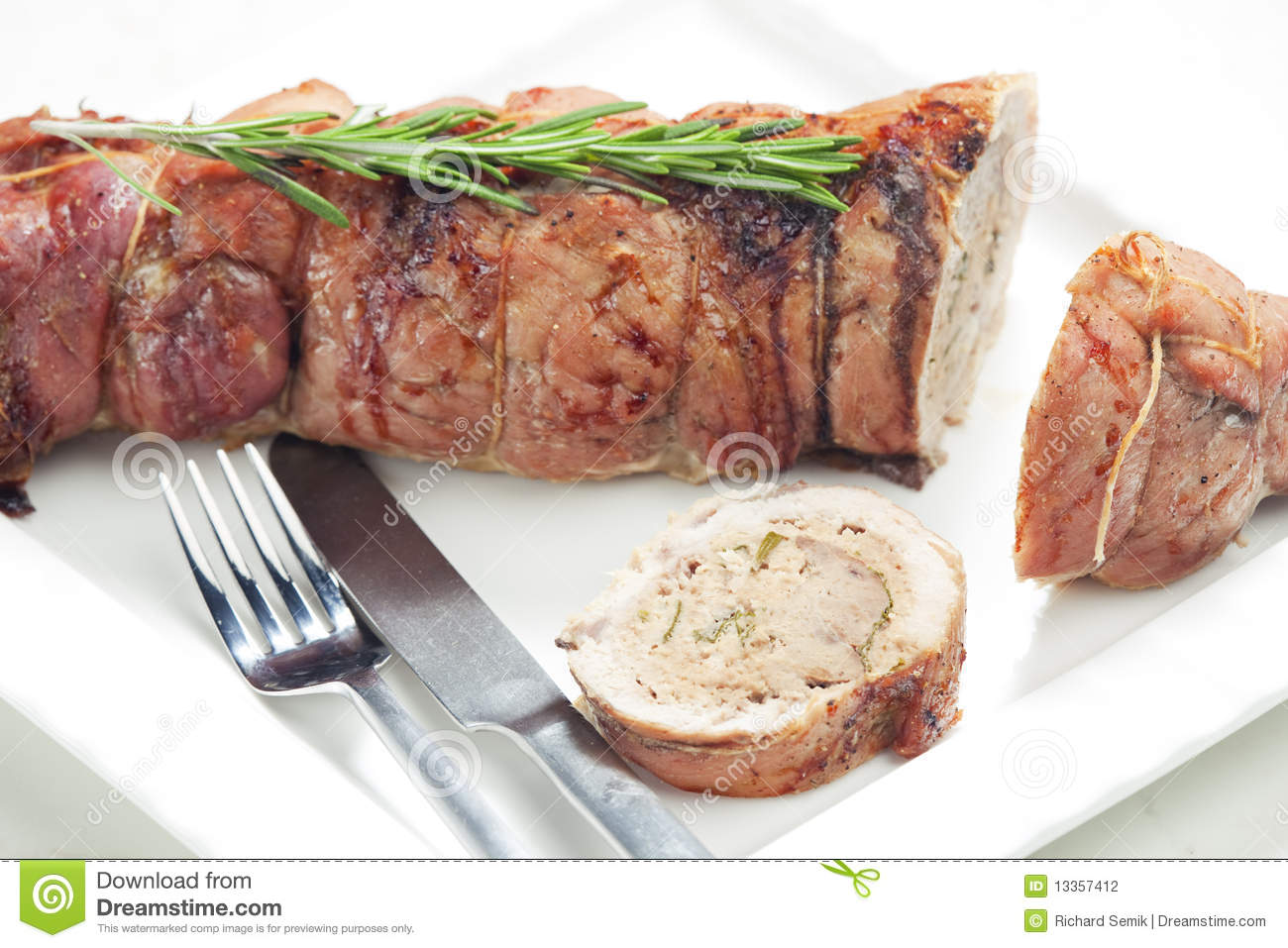 Veal roll