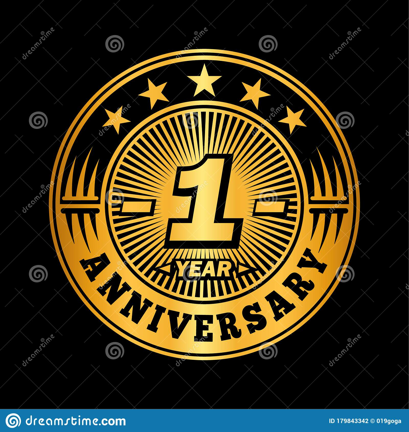 1 year anniversary celebration 1st anniversary logo design one year logo stock vector illustration of invitation celebrating 179843342 dreamstime com