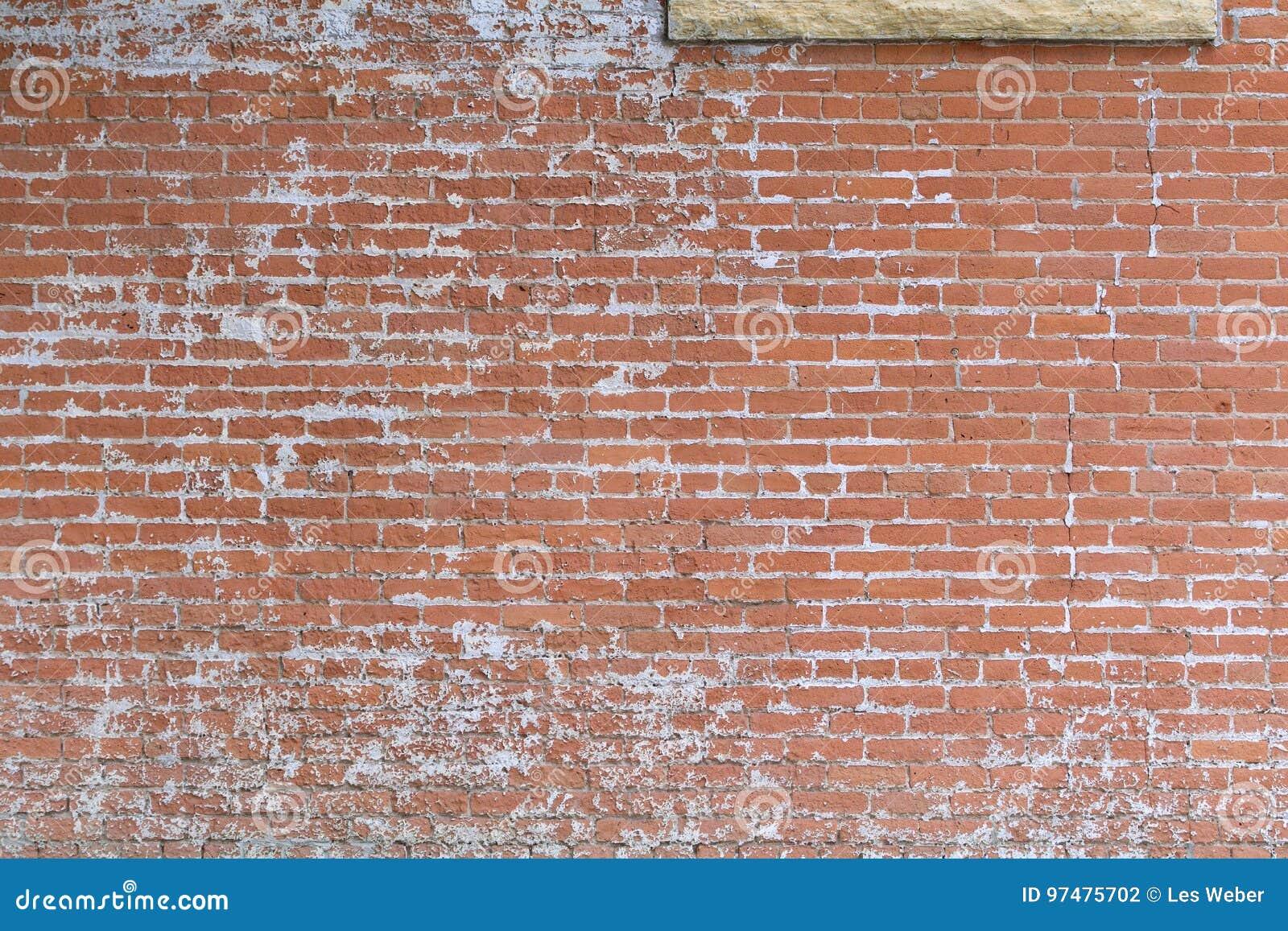 Vecchi mattoni in una parete