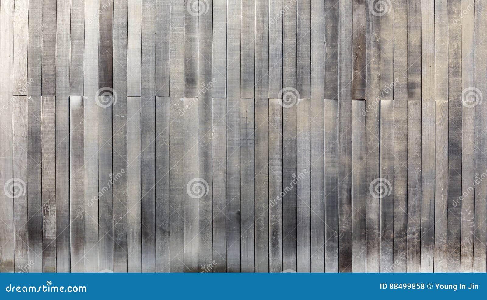 Legno Bianco E Nero : Vecchi pannelli del fondo di legno in bianco e nero di struttura