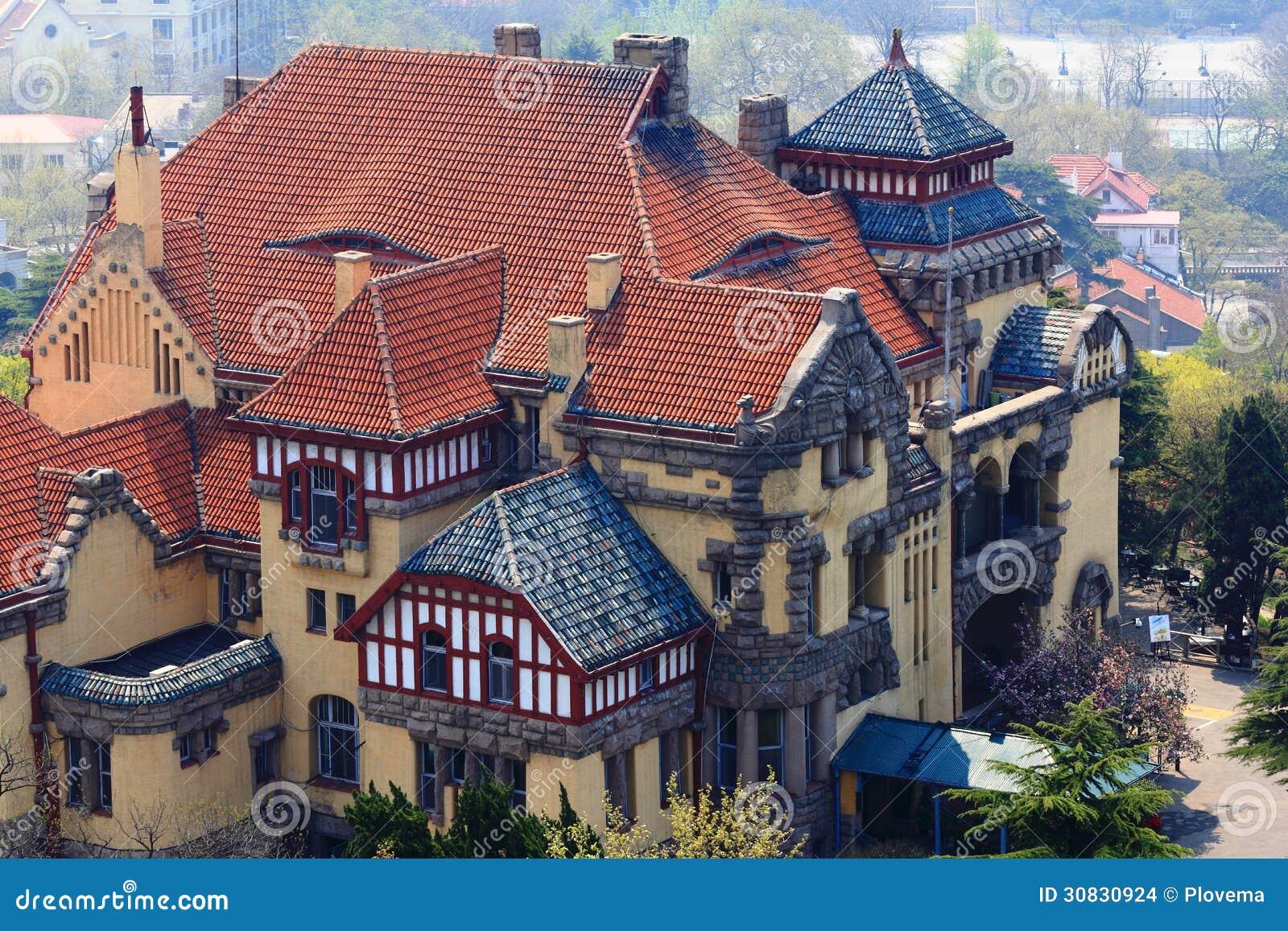 Vecchia architettura tedesca di stile