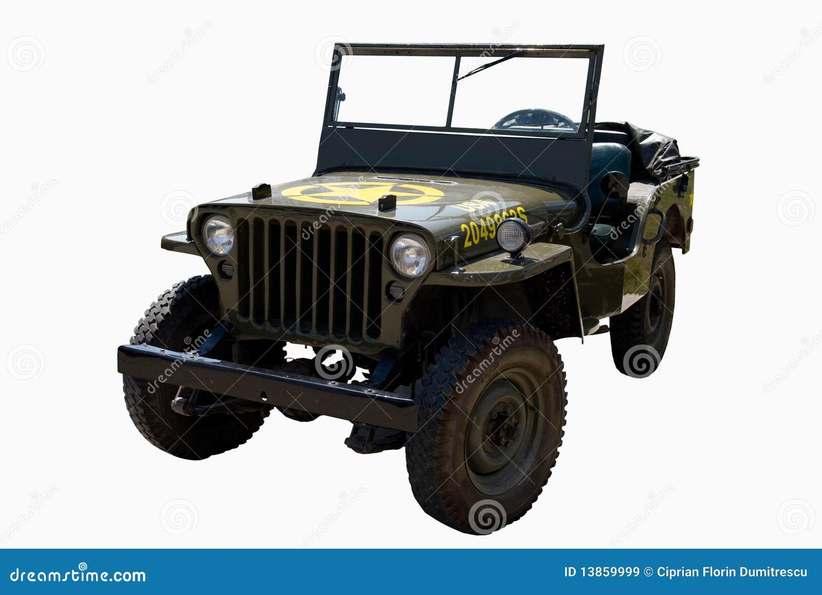 Vecchia automobile dell esercito