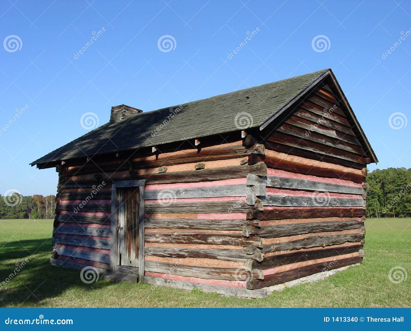 Vecchia cabina fotografia stock immagine di cabine corsa for Riparazione della cabina di log