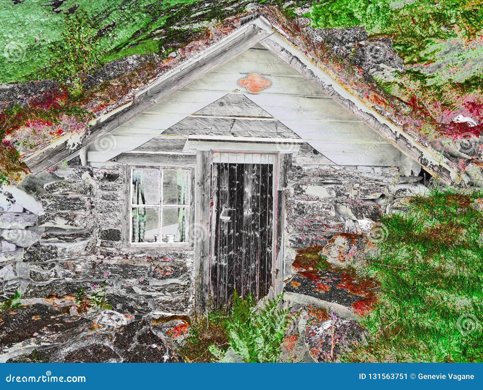 Vecchia cabina norvegese