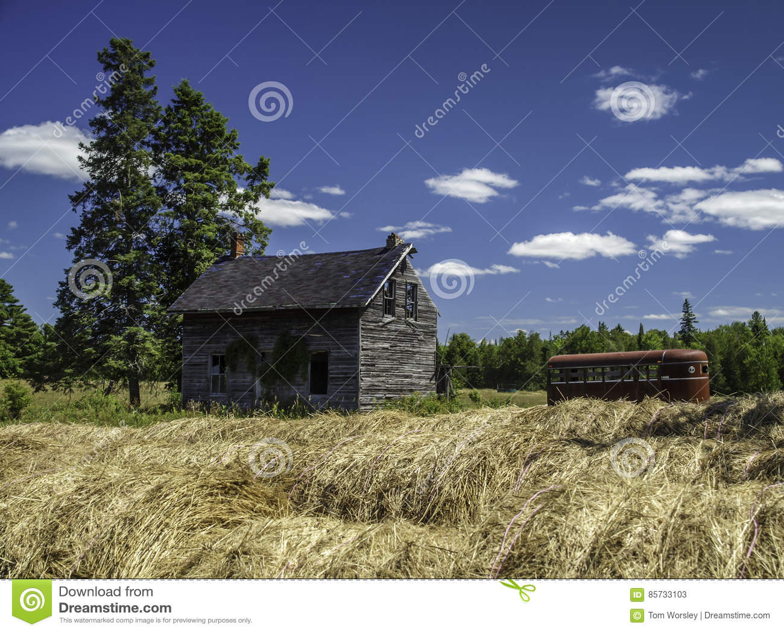 Vecchia Camera abbandonata dell azienda agricola