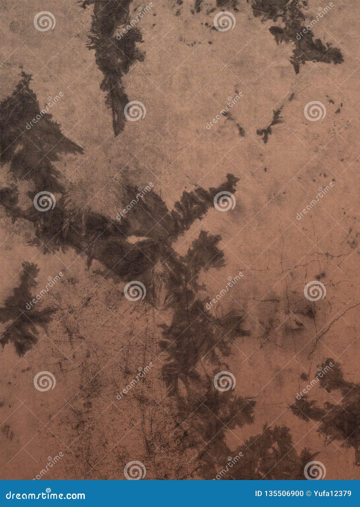 Vecchia carta di lerciume d annata Sovrapposizioni di struttura del fondo