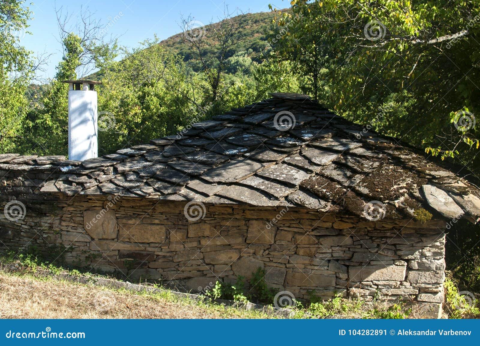 Vecchia Casa Di Campagna Di Pietra Immagine Stock Immagine Di