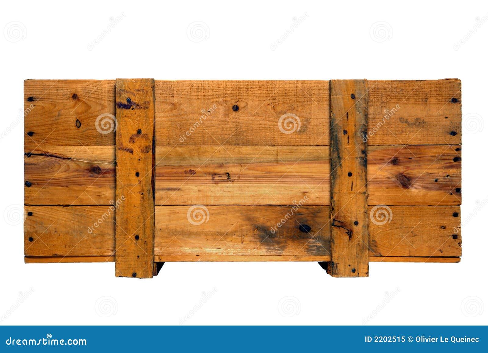 Vecchia cassa di legno