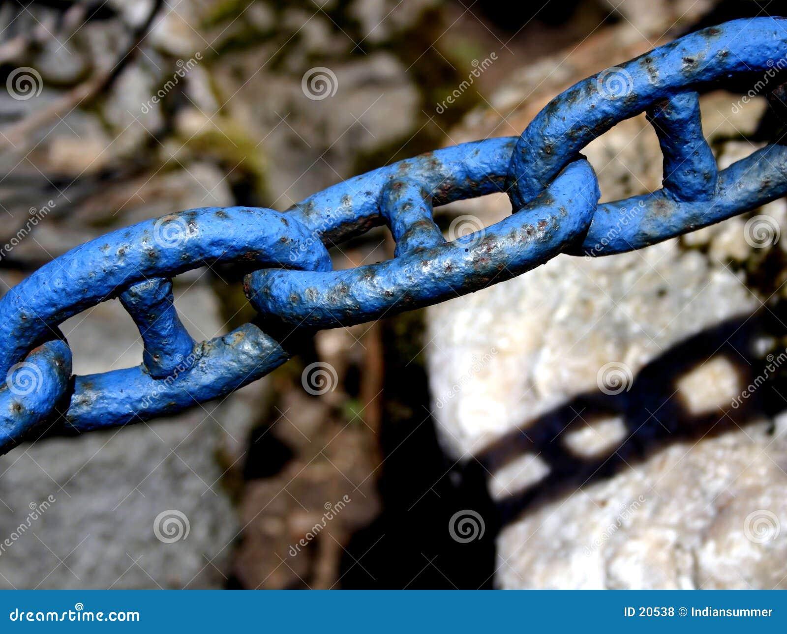 Vecchia catena. Particolare III