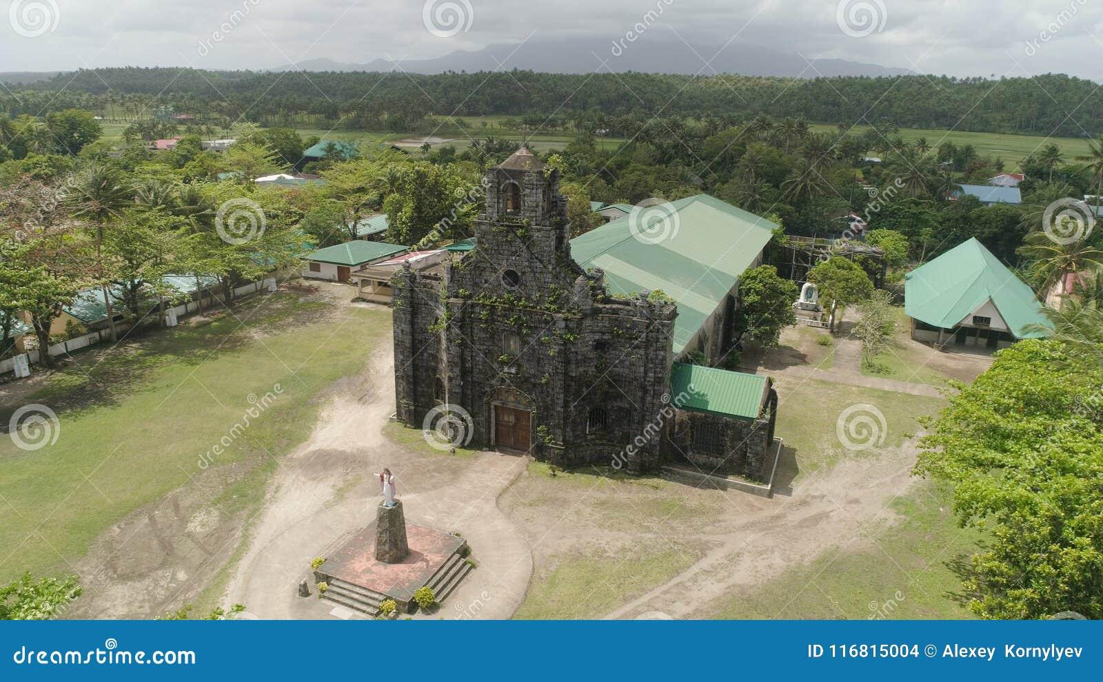 Vecchia chiesa cattolica Barcellona, Sorsogon, Filippine