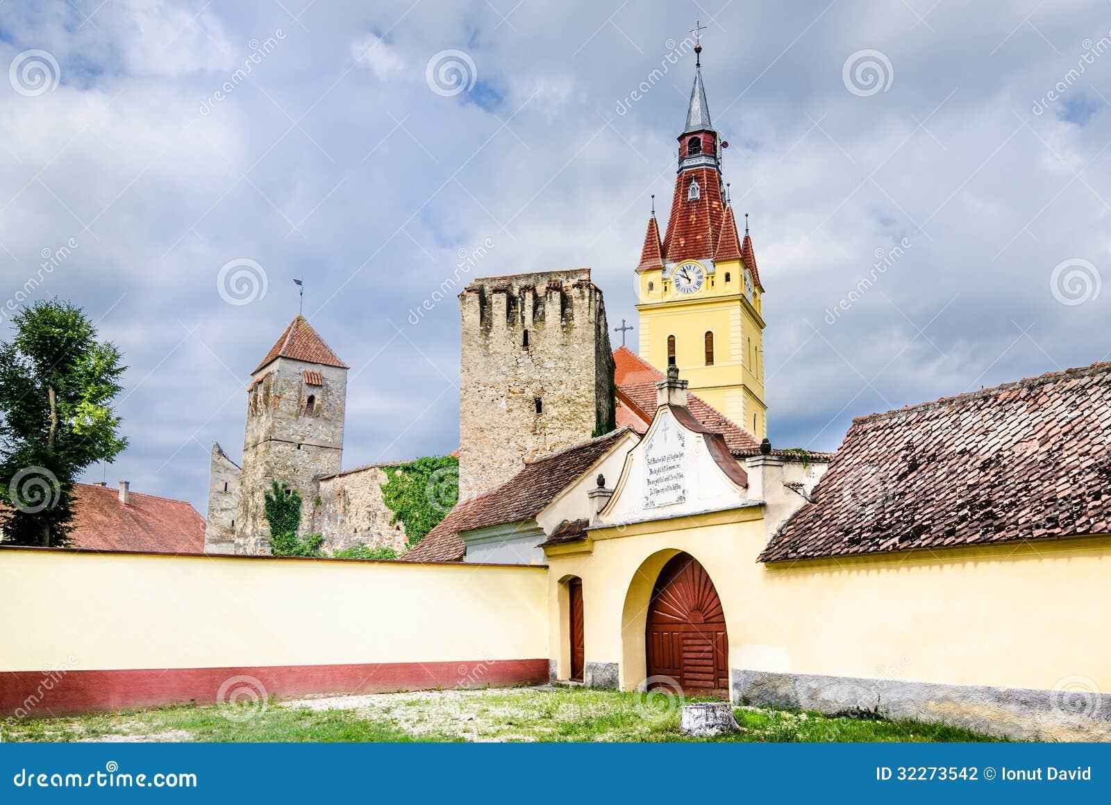 Vecchia chiesa in Cristian, Brasov, Romania