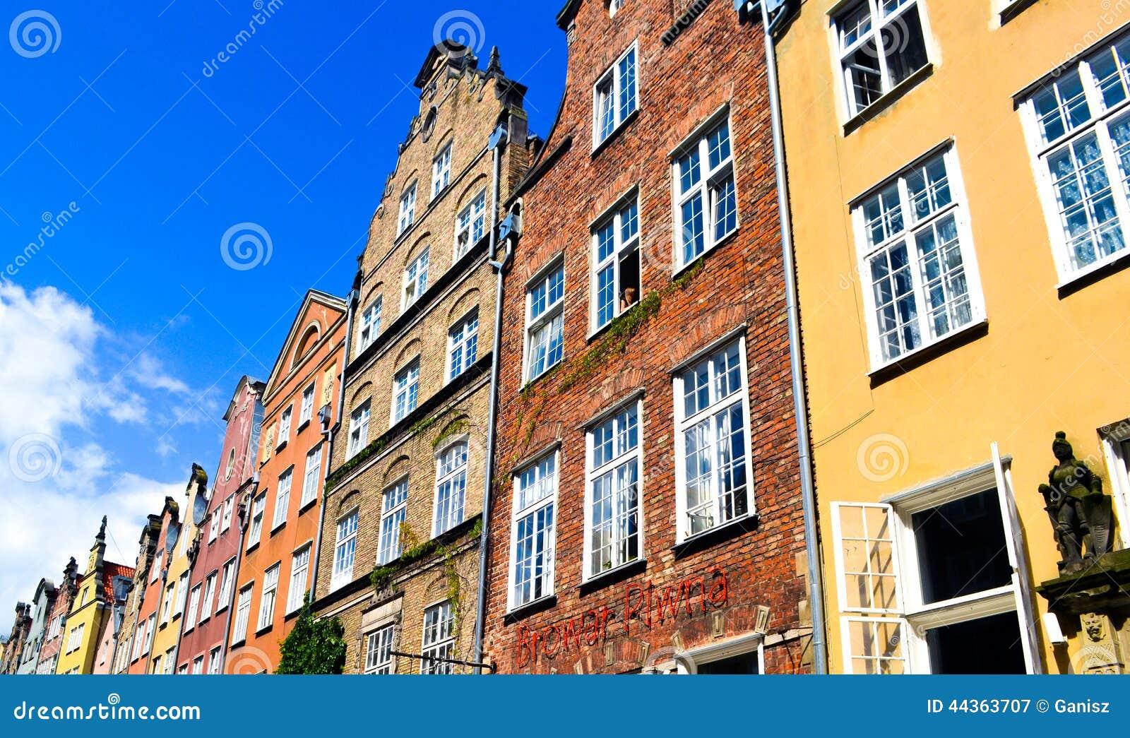 Vecchia città a Danzica