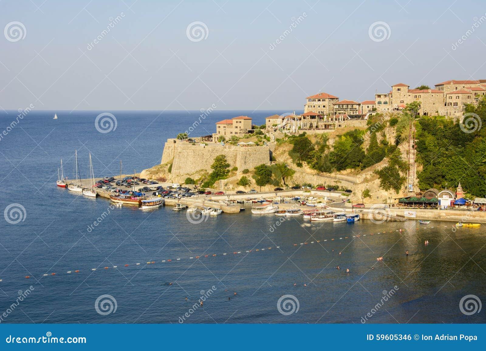 Vecchia città di Dulcigno, Montenegro