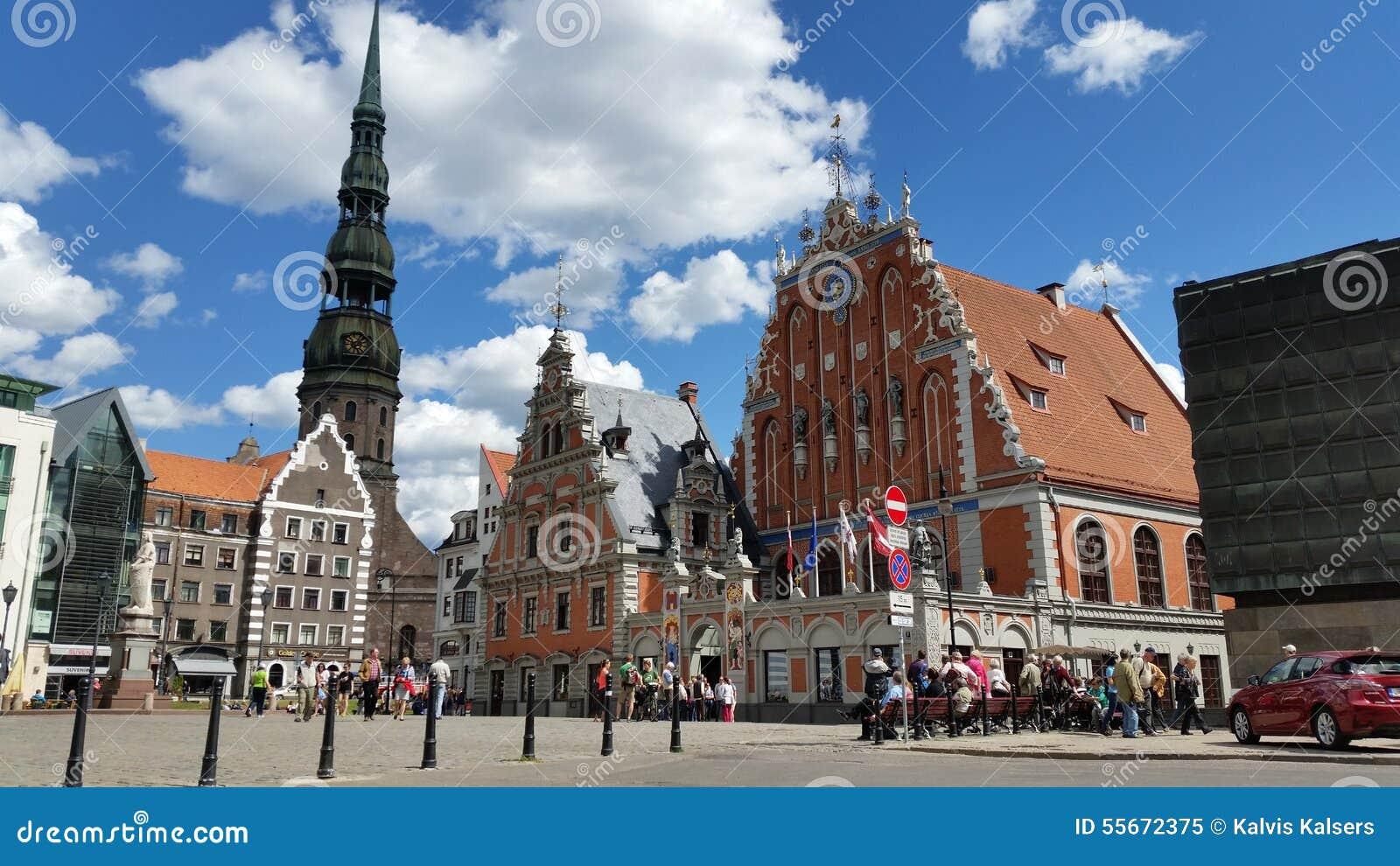 Vecchia città di Riga