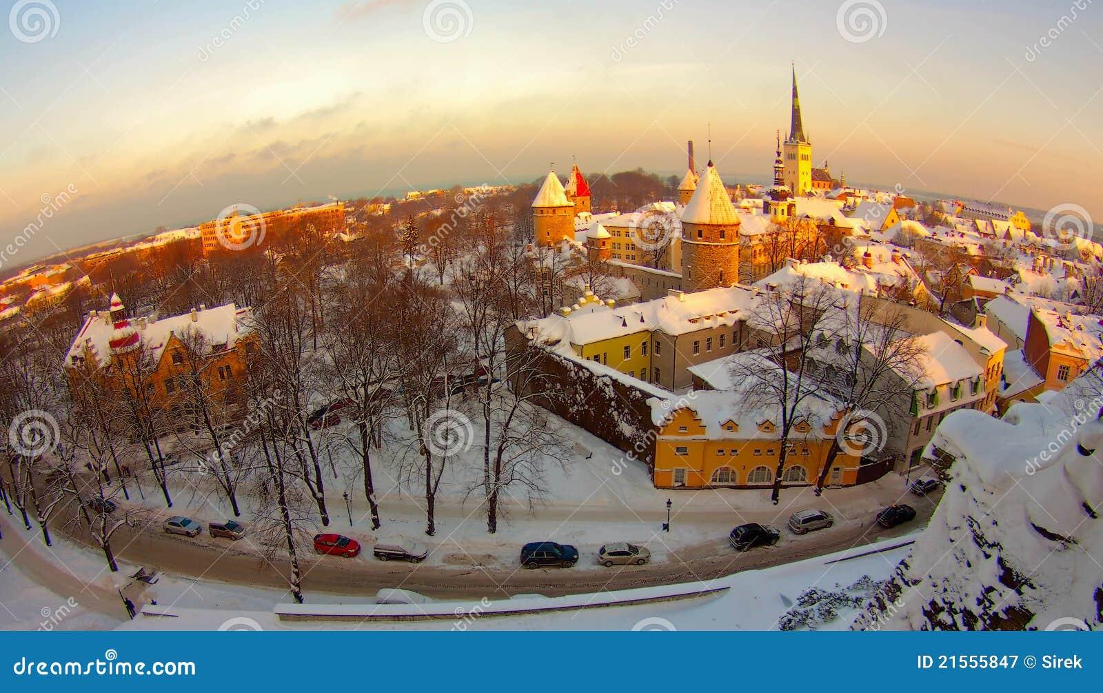 Vecchia città, Estonia Tallinn