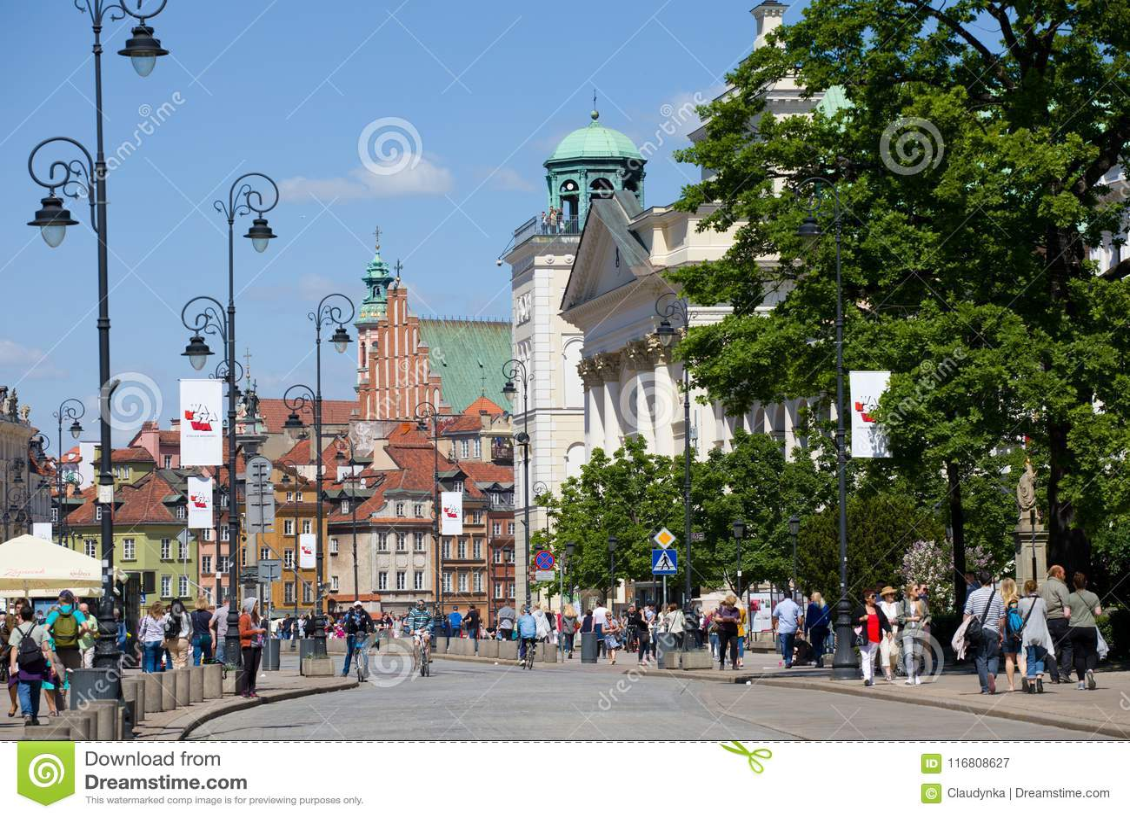 Vecchia città a Varsavia