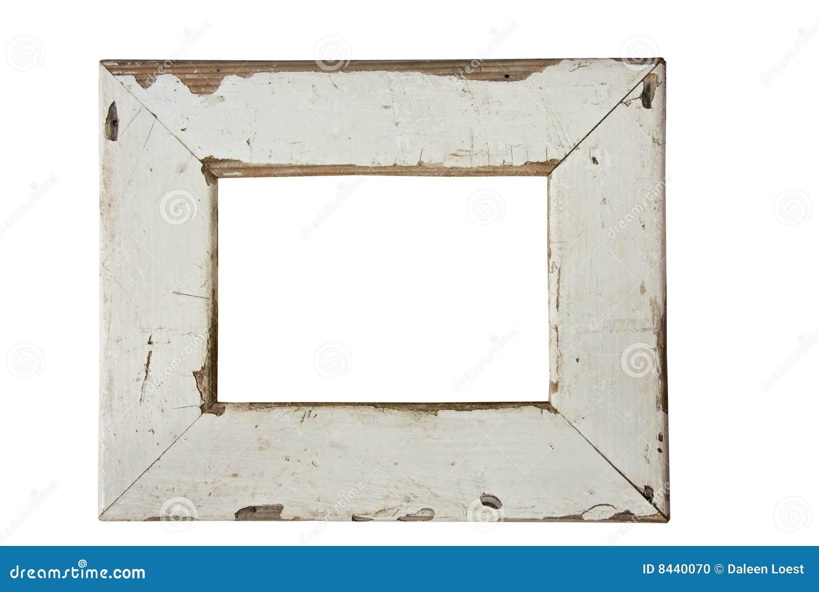 Vecchia cornice di legno fotografia stock immagine di for Cornice foto legno