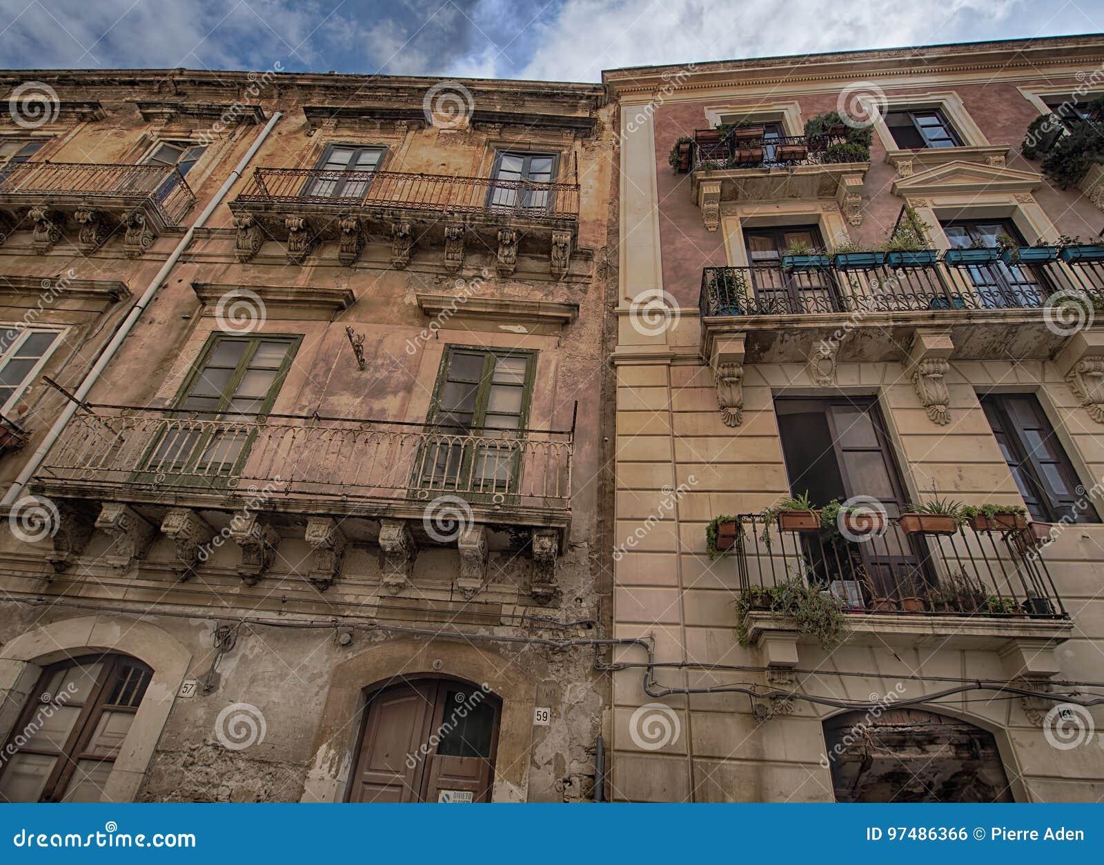 Vecchia costruzione in Ortigia