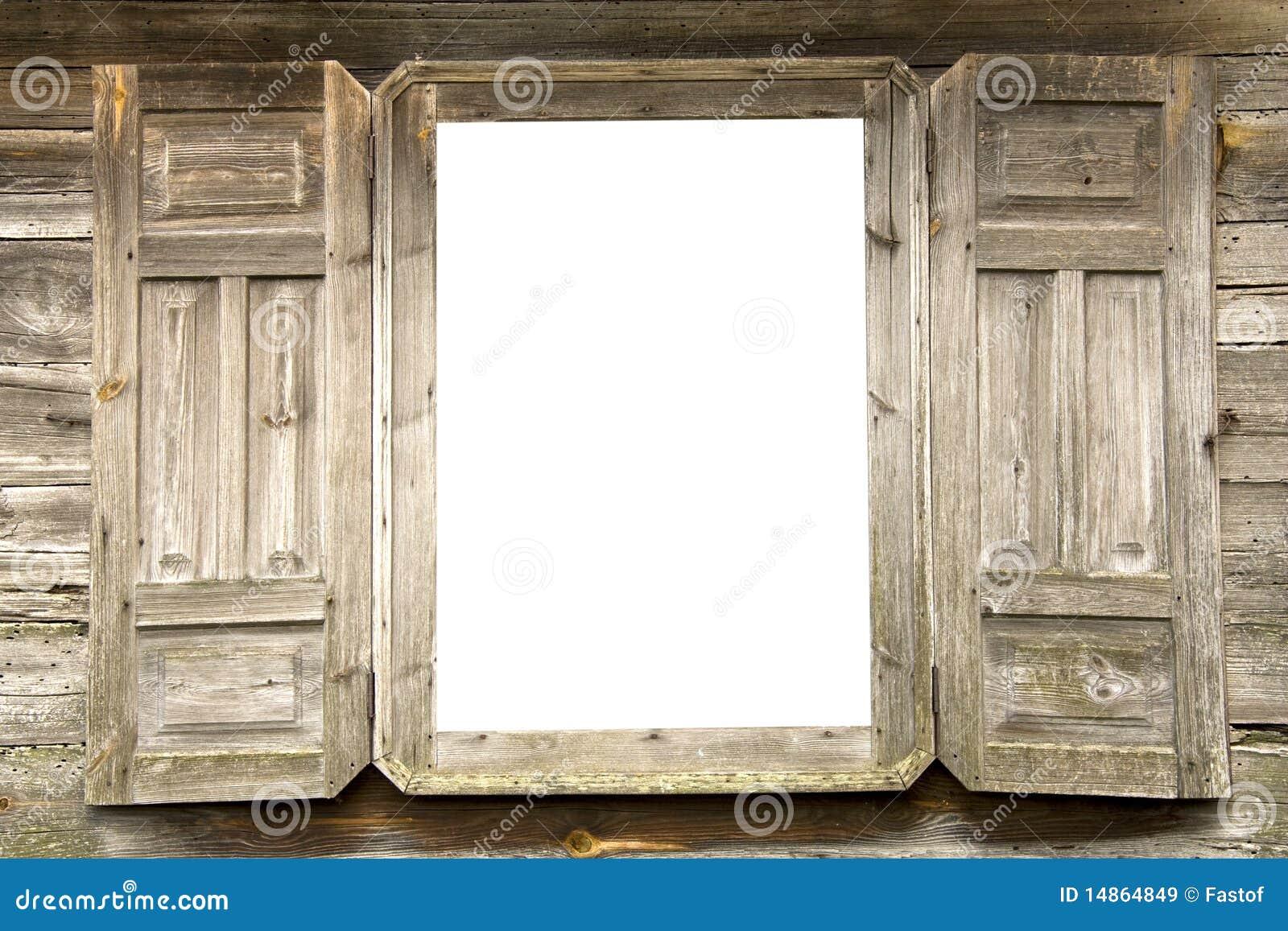 Vecchia finestra immagine stock immagine di polveroso for Finestra antica aperta