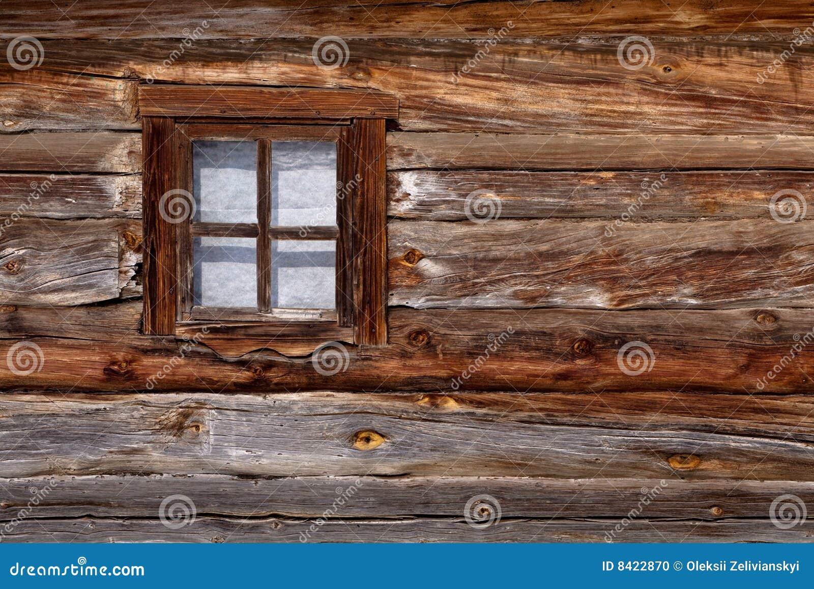 Vecchia finestra di legno fotografia stock immagine 8422870 for Finestra vecchia