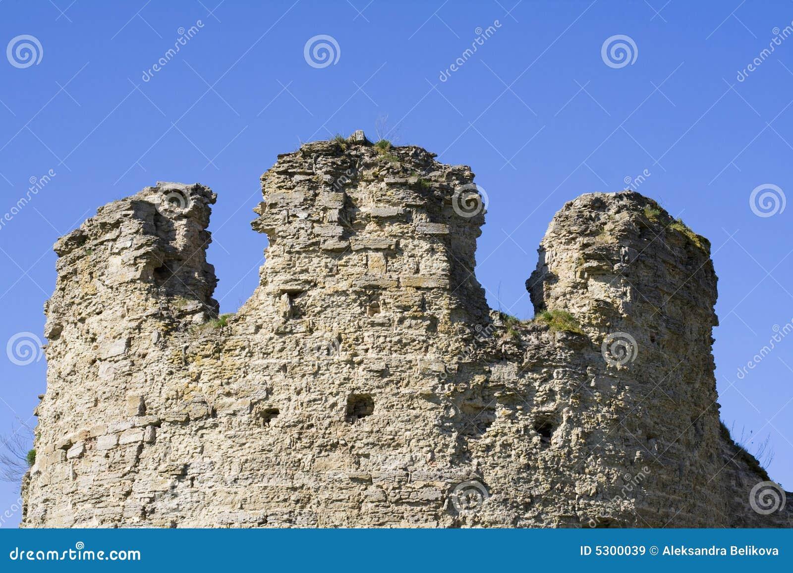 Download Vecchia fortezza Koporie immagine stock. Immagine di europeo - 5300039