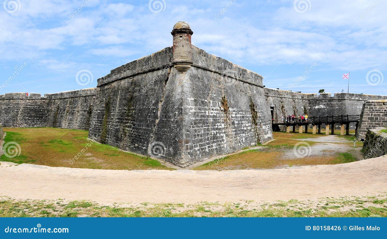 Vecchia fortificazione, St Augustine, FL