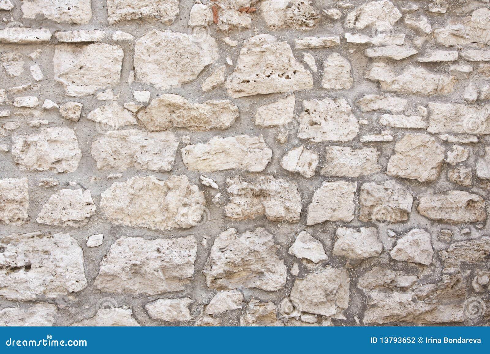 Vecchia parete di pietra fotografia stock immagine di - Parete di pietra ...
