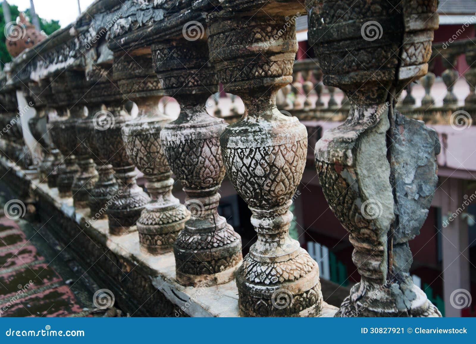 Vecchia parete di pietra