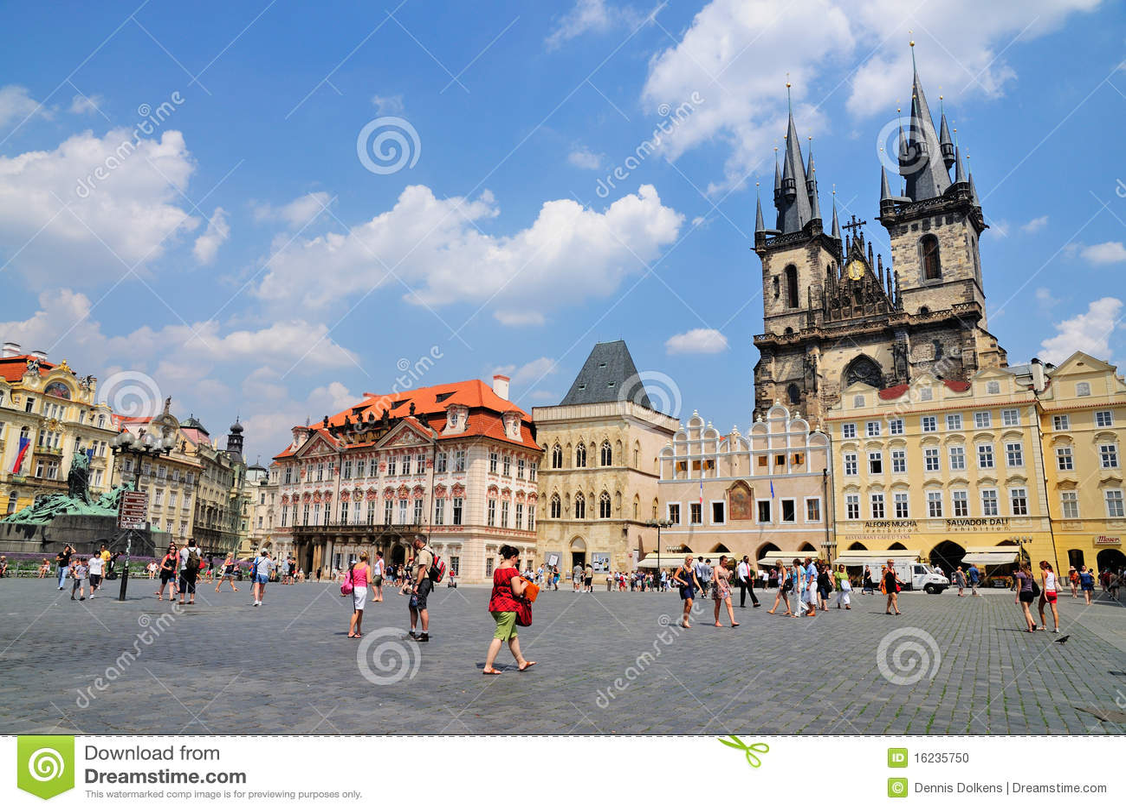 Vecchia piazza, Praga