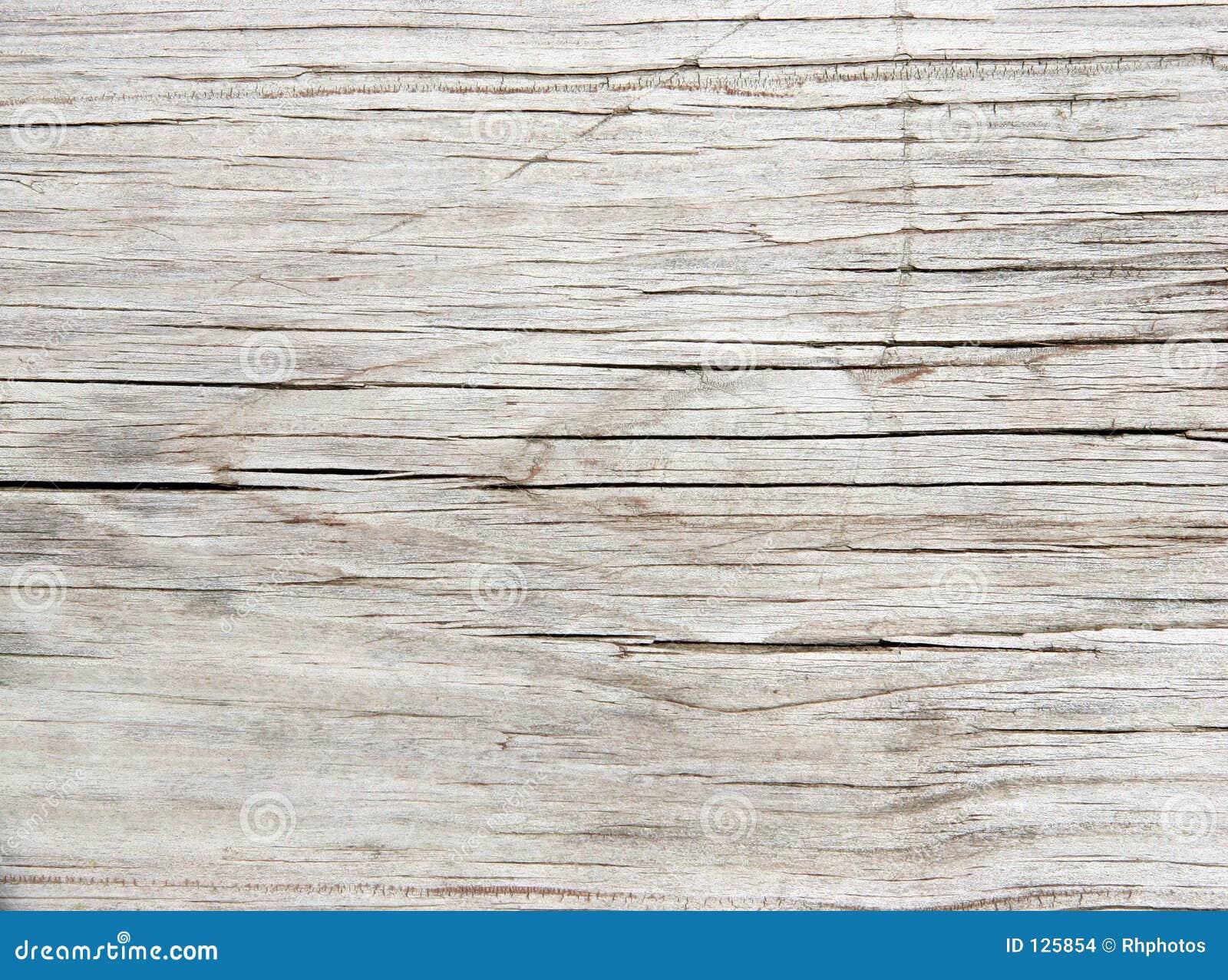 Vecchia plancia sbiadetta del Redwood